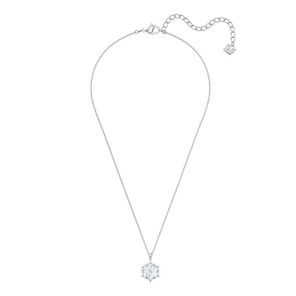 Magic Pendant, White, Rhodium Plating