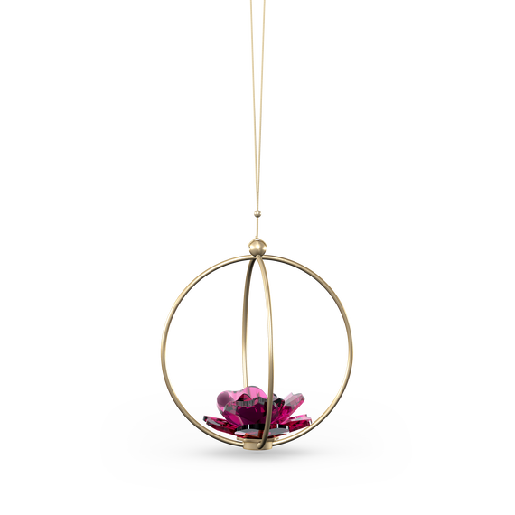 Garden Tales Rose Ball Ornament, Large