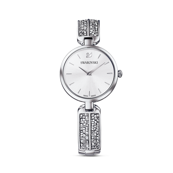 Dream Rock Watch, Metal Bracelet, Silver tone, Stainless steel