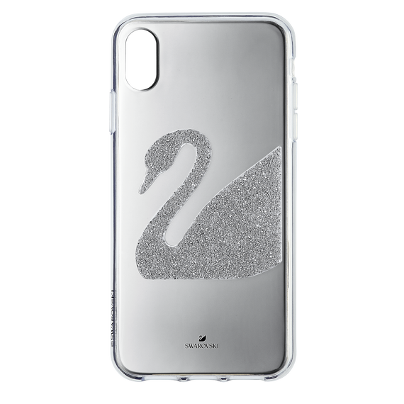 Swan Smartphone Case, iPhone® XS Max, Gray
