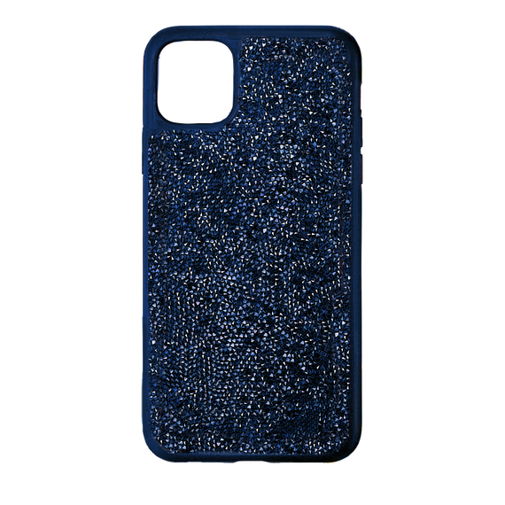 Glam Rock Smartphone Case with Bumper, iPhone® 11 Pro Max, Blue