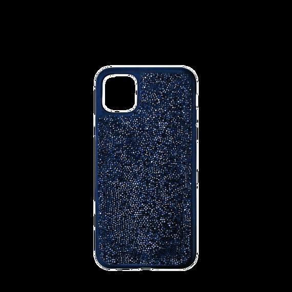 Glam Rock Smartphone Case with Bumper, iPhone® 12 mini, Blue