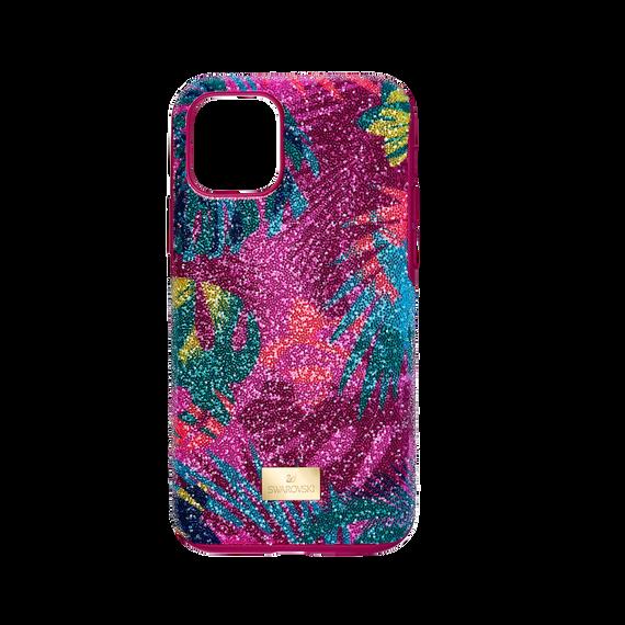 Tropical Smartphone Case with Bumper, iPhone® 11 Pro, Dark multi-colored