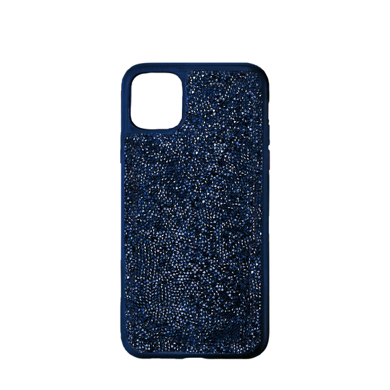 Glam Rock Smartphone Case with Bumper, iPhone® 12/12 Pro, Blue
