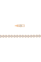 Angelic Bracelet, White, Rose Gold Plated